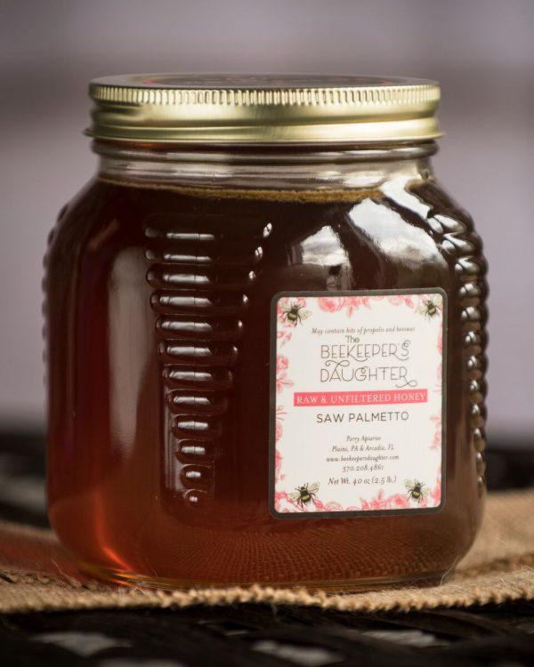 saw palmetto raw honey