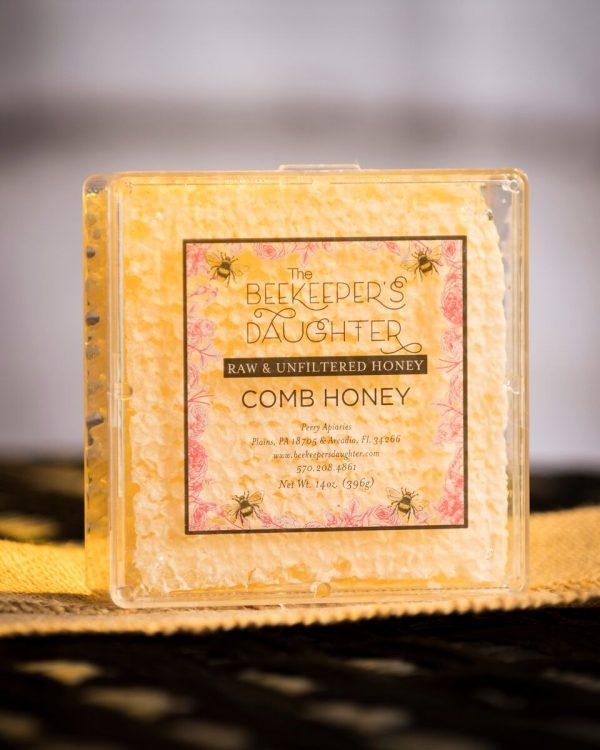 beekeeper's daughter raw comb honey