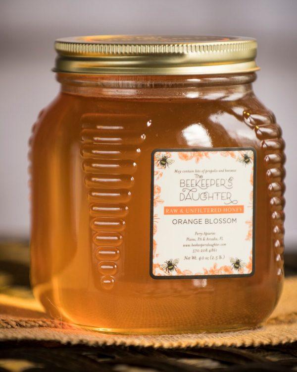 orange blossom raw honey