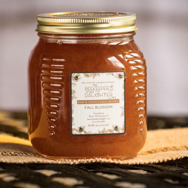 fall blosssom raw honey