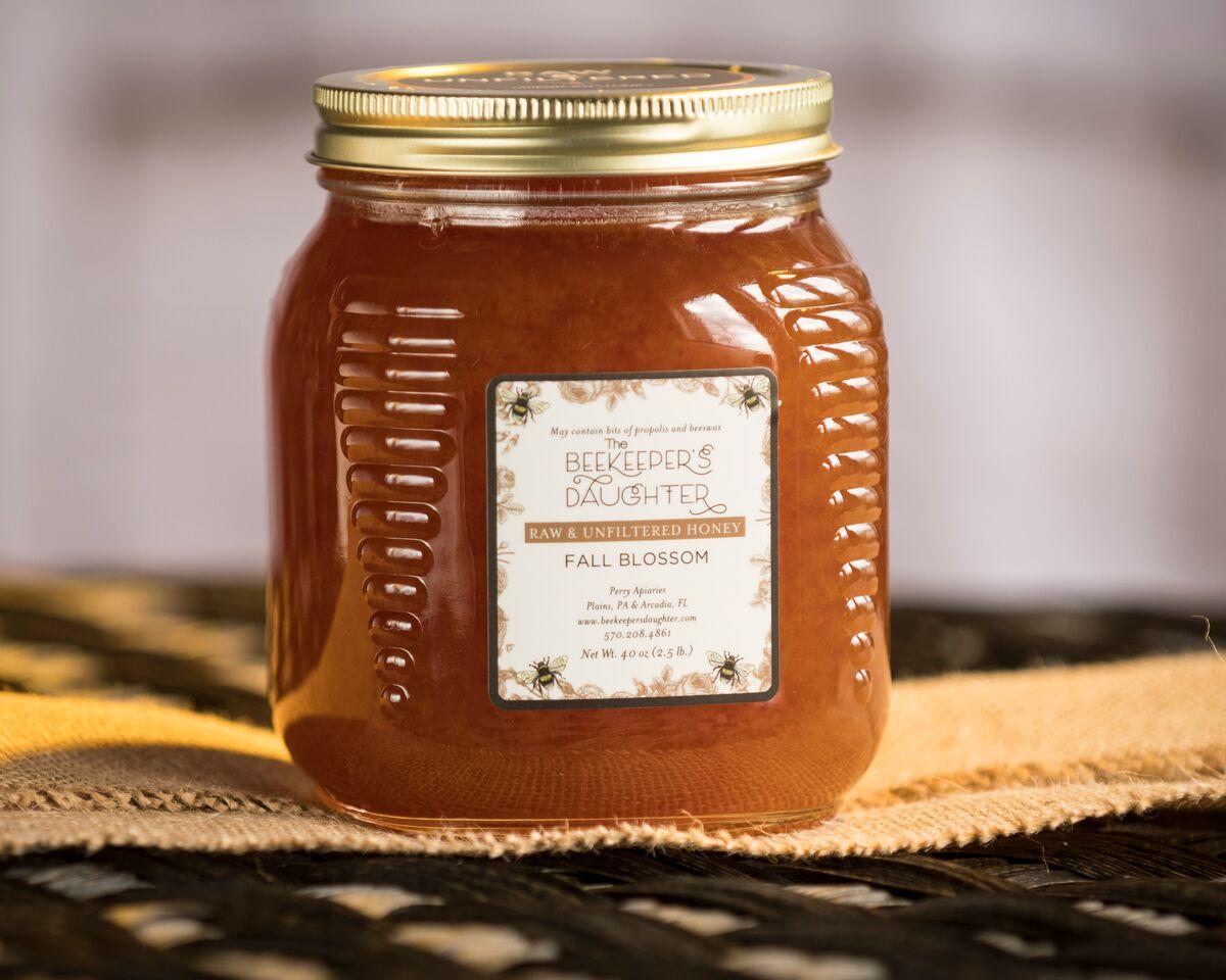 Fall Blossom Raw Honey – 2 5lb Jar – The Beekeeper's