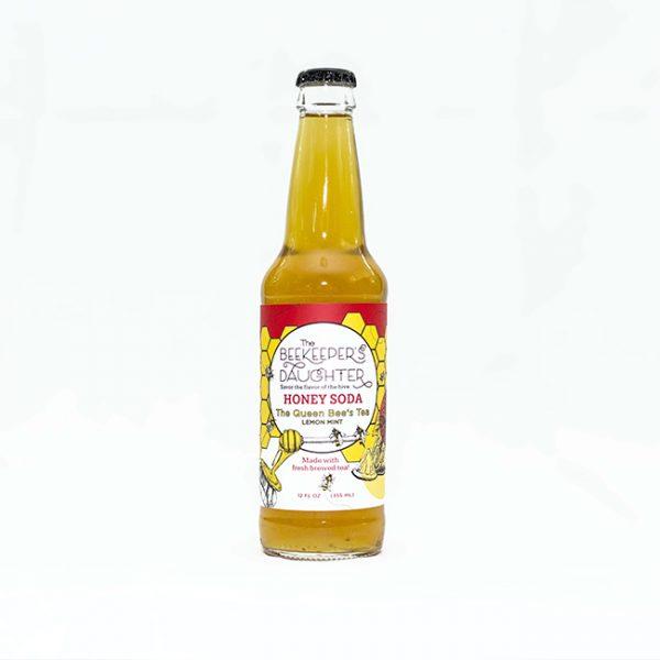 Queen Bees Tea Honey Soda